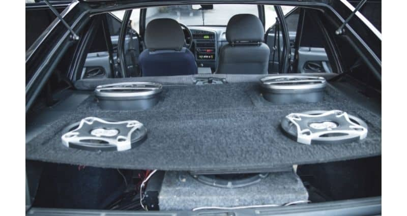 Car Subwoofers and Amp Package